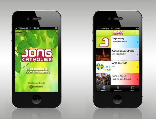 Smartphone app voor Jong Katholiek
